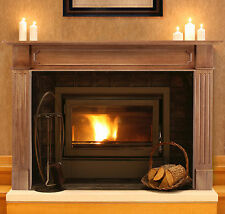 "Pearl Mantels 50"" unfinished Alamo fireplace mantel"