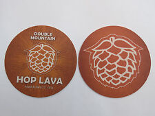 Cool Beer Coaster    DOUBLE MOUNTAIN Hop Lava Northwest IPA ~ Hood River, OREGON