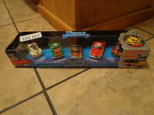 2001 MUSCLE MACHINES--EXCLUSIVE X' MAS 5 CAR SET (NEW)