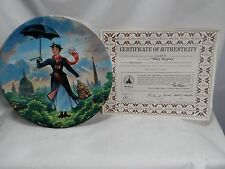 Walt Disney's Mary Poppins 1989 Knowles Collectors Plate with Box and Coa