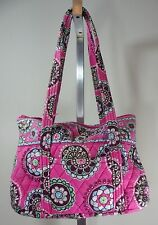 Vera Bradley Small Retired Pattern Cupcakes Pink Tote, Purse, Bag