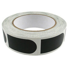 """Storm 1"""" Black Smooth Bowling Ball Thumb Tape Pack Roll 500 Ct"""