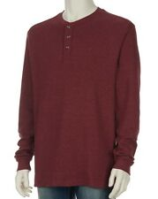 Wolverine - Men's XL - NWT - Red Walden Thermal Waffle Knit Henley Shirt