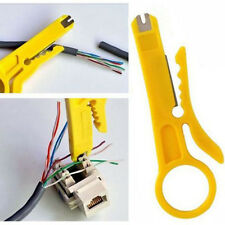 2×Punch Down Tool and Cable Stripper Network RJ45 CAT5 CAT5E CAT 6