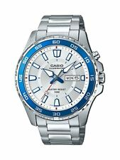 Casio MTD110D-7AV, Men's Super Illuminator Watch, Day/Date, 50 Meter WR