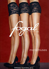 FOGAL Hosiery & Legwear CATALOG Spring Summer 2016 Collection SEXY LONG LEGS!