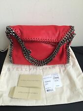 NWT $1055 Stella McCartney Falabella Mini Tote Bag Cherry