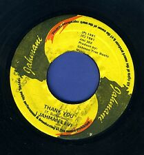 1194 I JAHMAN LEVI-THANK YOU-JAHMANI-1981 REGGAE 45 7""