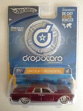 Hot Wheels, Lincoln Continental, Dropstars with Phat Lip Wheels, 1:50, Diecast
