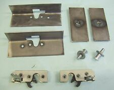 Street Race Hot Rod Door Latches Install Kit with Latches **USA made* Small Size