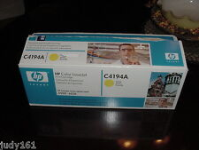hp c4194a Yellow NIB Open Box