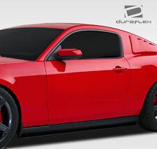 05-14 Ford Mustang Duraflex R-Spec Side Skirt Splitters 2pc 107607