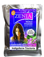 BUY 4 GET 1 FREE 500g ZENIA INDIGO POWDER NATURAL HAIR DYE CONDITION