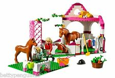 Lego 7585 Belville Horse Stable Figure 2 Horses Complete Instructions & Box