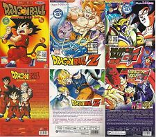 3 box sets Anime DVD Dragon Ball + Dragon Z + Dragon GT Complete Japan Series TV