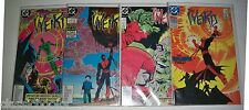 The Weird 1-4 & PEACEMAKER 1-4 DC 1988   All 1st Print