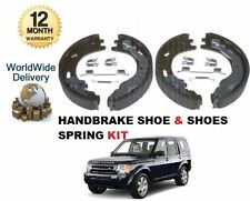 FOR LAND ROVER DISCOVERY 3 4 2004-2009 2.7 4.4 24v HAND BRAKE SHOE & FITTING KIT