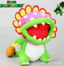 SUPER MARIO BROS. DINO PIRANHA PELUCHE 30Cm. Plush Petey Plant Pianta Peach