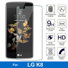 100% GENUINE TEMPERED GLASS SCREEN PROTECTOR FOR LG K8 SMART PHONE