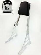 Skull Backrest Sissy Bar Fit Harley Sportster Xl883C Xl1200R C S Xlh883 Xlh1200