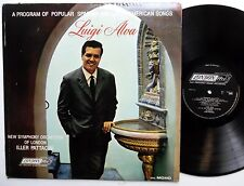 LUIGI ALVA Program of Popular Spanish and Latin American songs LP Near-MINT