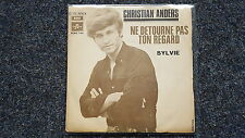 Christian Anders - Ne detourne pas ton regard 7'' Single SUNG IN FRENCH/ Italy