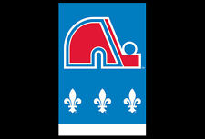 Retro Classic QUEBEC NORDIQUES Official NHL Hockey Team Logo POSTER