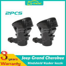 2pcs ABS Windshield Washer Nozzle For Jeep Grand Cherokee 2011-2014 2012 2013