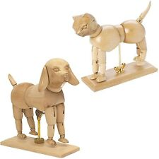 US Art Supply Dog & Cat Manikin Pair - Art Drawing Illustration