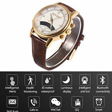 Bluetooth Smart Watch Health Reminder For iOS Android iPhone 6 Plus 6S Note 5 4