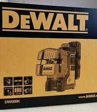 Official DEWALT DW089K-XJ Self Leveling 3 Beam Line Laser, Europe Version