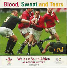 Blood, Sweat and Tears - Wales v South Africa an Official History Rugby DVD