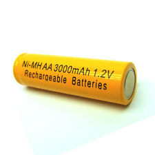 8 X AA 2A 3000mAh NiMH Rechargeable Battery Cell Yellow