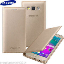 New Golden Colour LEATHER FLIP COVER CASE for SAMSUNG GALAXY J7 2015