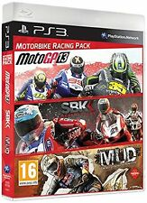 PS3 Motorbike Triplepack with MotoGP 2013 / MUD / SBK Generations Game NEW