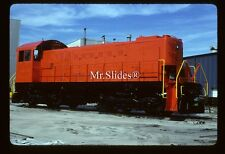 Original Slide DEGUSSA Fresh Paint ALCO S2m GE Cleveland Rebuild In 1989