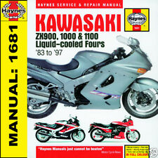 Kawasaki GPZ900 1000RX ZX10 ZZR1100 1983-1997 Haynes Manual 1681 NEW