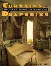 Curtains And Draperies: History, Design And Inspiration, Gibbs,Jenny, Good Condi