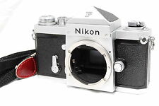Excellent+ Nikon F Eye Level 35mm SLR Film Camera Body from Japan #884
