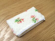 Handmade Coin Purse Made With Rare Cath Kidston Rose Sprig Fabric