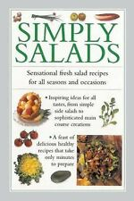 Simply Salads: Sensational Fresh Salad Recipes For All Seasons And Occ-ExLibrary