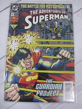 Adventures of Superman #513- The Battle for Metropolis! (DC, 1994) Bagged - C733