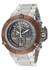 17618 Invicta 50mm Subaqua Noma III Swiss Quartz Chronograph SS Bracelet Watch