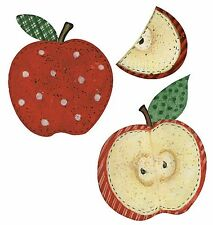 Red Apples Susan Winget Wall Border 25 Wallies Apple Decor Stickers Decal Art