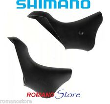 SHIMANO PARAMANI BRACKET COVER PAIR BLACK DURA ACE ST7801/ST7803