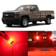 Alla Lighting Turn Signal Brake Lights Red LED Bulbs for 99~13 Chevy Silverado