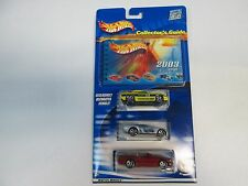 Hot Wheels 3 Pack with 2003 Collector's Guide