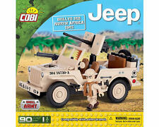 Costruzioni Cobi 24093 Small Army: Jeep, Willys MB North Africa 1943, New!