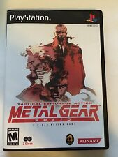 Metal Gear Solid - Playstation - Replacement Case - No Game