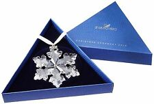 2016 SWAROVSKI CRYSTAL CHRISTMAS LARGE SNOWFLAKE ORNAMENT ANNUAL EDITION NEW!